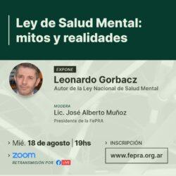 Ley de Salud Mental: Mitos y Realidades Conversatorio FePRA
